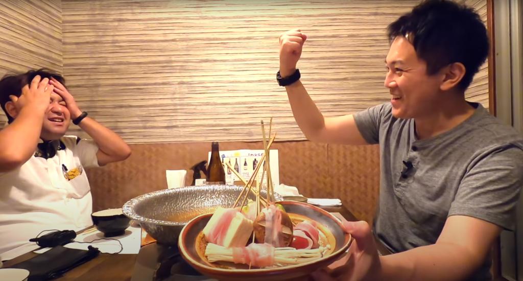 甘味とコクが凄い!「キビまる豚」専門店の串しゃぶが最高だった【しゃぶしゃぶと島豚料理みなみ】