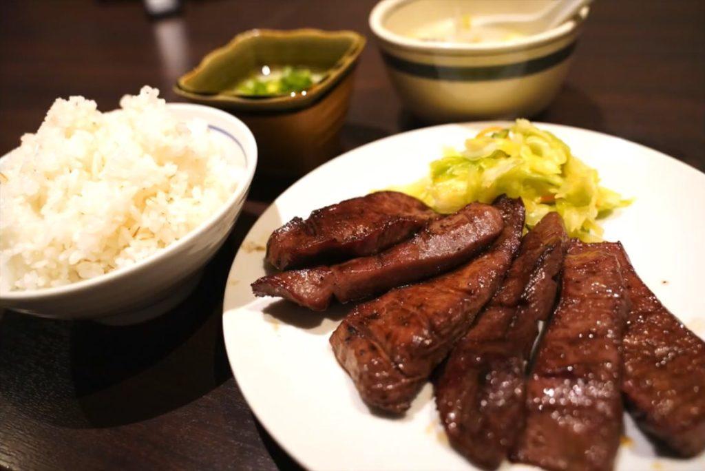 重量感のある厚切り牛タンが食べられるお店が最高だった【仙台の牛タン料理 閣 電力ビル店】