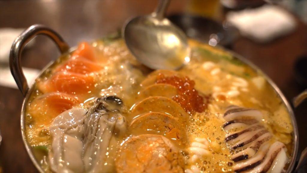 贅沢の極み!!牡蠣にあん肝の入った痛風鍋が絶品だった【道南農林水産部 新栄店】