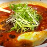 胡麻の香りと辛さがたまらない!麺と肉を絡めて食べる担担麺が最高だった!【京橋ササラ】